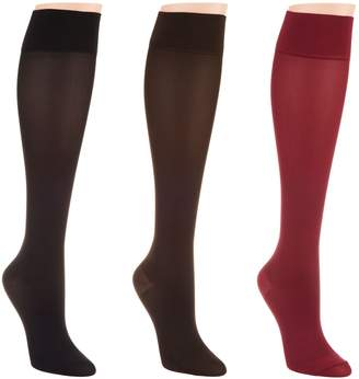 Legacy Silky Graduated Compression Socks Set of 3