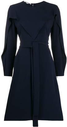 Stella McCartney long-sleeved flared dress