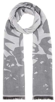 McQ Swallow Storm wool-blend scarf