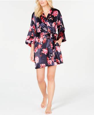 Thalia Sodi Floral-Print Wrap Robe