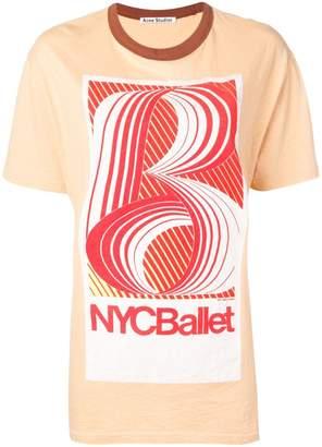 Acne Studios ballet print T-shirt