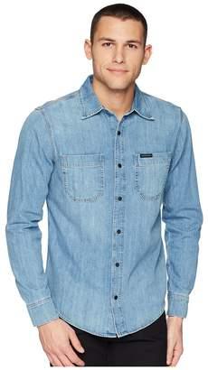 Calvin Klein Jeans Two-Pocket Utility Shirt Men's Clothing