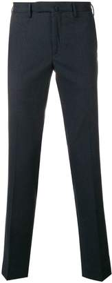 Incotex micro pattern slim-fit trousers