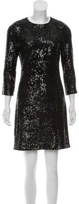 Pre Owned At Therealreal Tory Burch Sequin Bodycon Dress