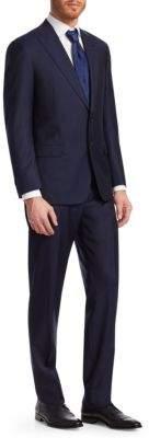 Giorgio Armani Two-Piece Wool Peak Lapel Suit
