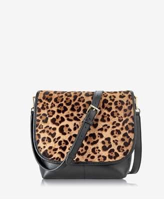 GiGi New York Andie Crossbody In Leopard Haircalf