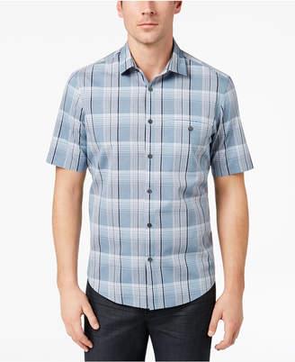 Alfani Men's Plaid Pocket Shirt, Created for Macy's