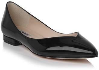 LK Bennett Luisa Patent Leather Flat