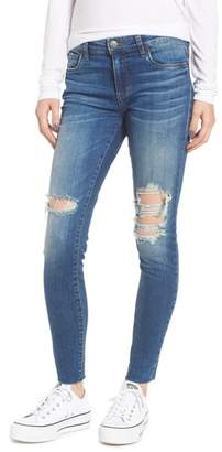 STS Blue Emma Raw Hem Ankle Skinny Jeans