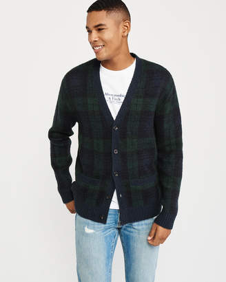 Abercrombie & Fitch Easy Plaid Cardigan