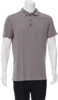 Armani Collezioni Button-Up Polo Shirt