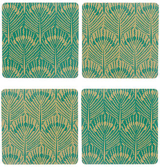 John Lewis & Partners Java Reversible Coasters, Set of 4