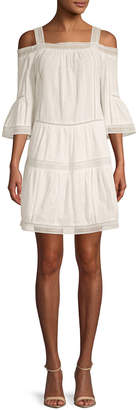 Paul & Joe Sister Nadine Off-The-Shoulder Shift Dress