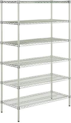 Williams-Sonoma Chrome Corner Shelf Unit