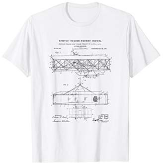 Wright Brothers' Flying Machine Patent T-Shirt