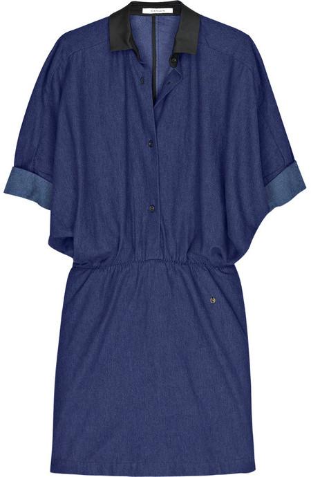 Carven Denim shirt dress
