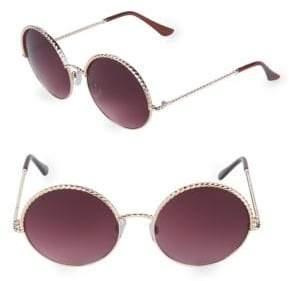 Fantas-Eyes 55MM Round Sunglasses