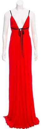 Jay Ahr Sleeveless Evening Dress