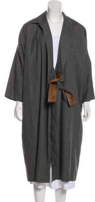 Hermes Long Wool Coat