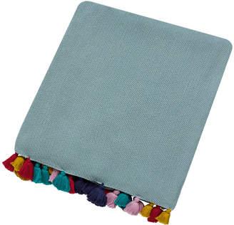 Harlequin Quintessence Tassel Knitted Throw