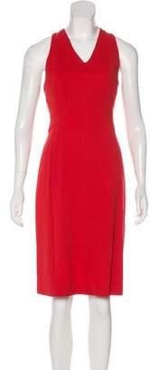 Derek Lam Halter Sleeveless Cocktail Dress