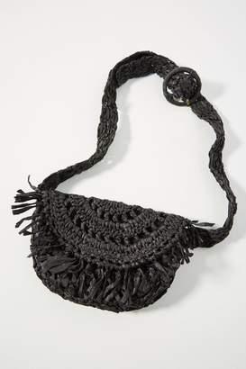 Anthropologie Alana Woven Belt Bag
