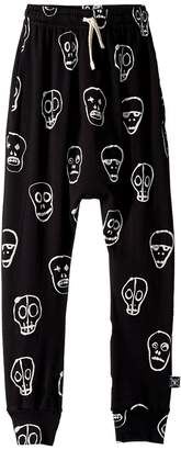 Nununu Skull Mask Baggy Pants Boy's Casual Pants