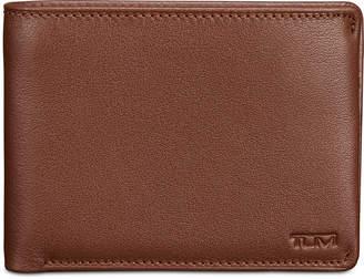 Tumi Men's Double Bifold Leather Wallet