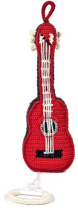 Anne Claire Hand-Crochet Guitar With Music Box