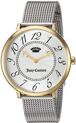 Juicy Couture Women's 'LA ULTRA SLIM' Quartz Gold Casual Watch(Model: 1901558) $250 thestylecure.com