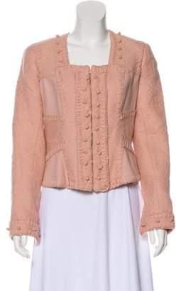 Saint Laurent Wool Long Sleeve Jacket