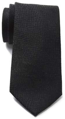 Calvin Klein Glitter Skins Silk Blend Tie