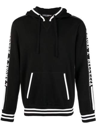 Dolce & Gabbana Amore E Belleza knitted hoodie