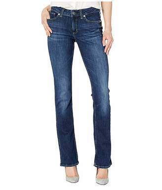 Silver Jeans Co. Elyse Mid-Rise Curvy Fit Slim Boot Jeans in Indigo L03601SSX339