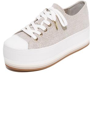 MICHAEL Michael Kors Ronnie Platform Sneakers $125 thestylecure.com