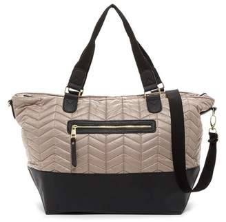 Madden Girl Coriq Quilted Weekend Bag $68 thestylecure.com