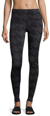 Alo Yoga Airbrush Printed High-Waisted Sport Leggings $102 thestylecure.com