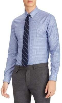 Polo Ralph Lauren Check Cotton Twill Long Sleeve Shirt