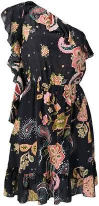 Liu Jo black one shoulder dress