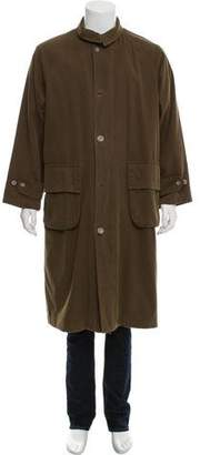 Giorgio Armani Corduroy Button-Up Jacket