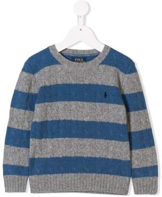 Ralph Lauren striped knit sweater