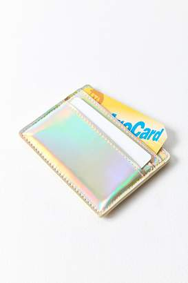 Urban Outfitters Metallic Card Case