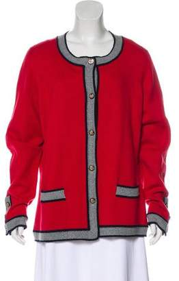 Chanel Cashmere Colorblock Cardigan w/ Tags
