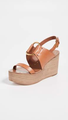b15e91e25295e7 Tory Burch Wedge Women s Sandals - ShopStyle