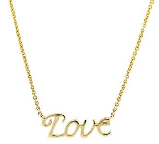 Bony Levy 14K Yellow Gold Love Pendant Necklace