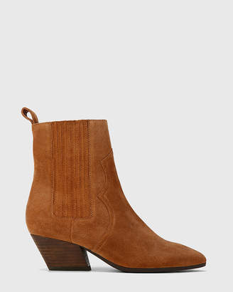Karissa Western Style Gusset Ankle Boots