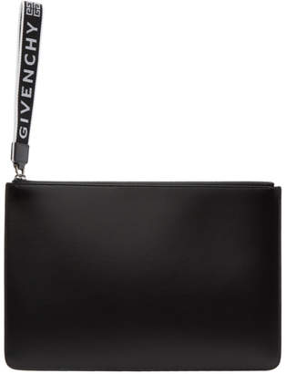 Givenchy Black 4G Webbing Pouch