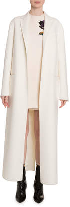 Valentino Wool-Cashmere Floor Length Coat