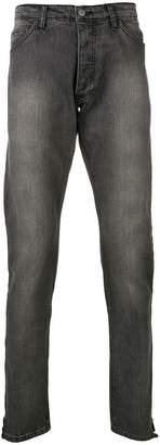 Rhude stonewashed regular jeans