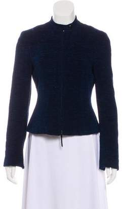 Akris Punto Knit Zip-Up Jacket
